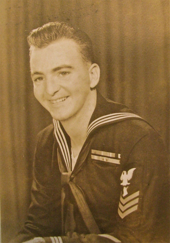 Jack Bohan of Englewood was a 23-year-old petty officer 1st class in 1953 when this picture was take near the end of the Korean War. Photo provided