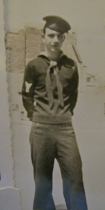 This is Jean's younger brother, Ted, who ran a landing craft and brought troops into the beaches of Normandy on D-Day during World War II. Photo provided