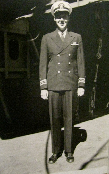 This is Harold, Jean's older brother, who served as a lieutenant commander in both the Atlantic and Pacific Theaters during World War II. Photo provided