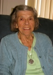 This is Jean at 92 in her apartment at