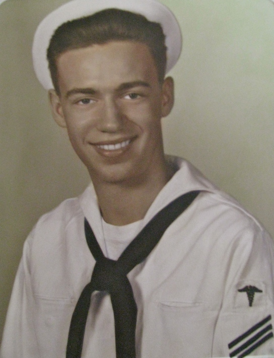 Bob Pulver was 19 and just graduated from Navy boot camp in 1959 when this picture was taken. Photo provided