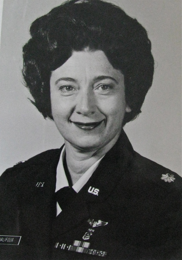 Mary Chalifour was a lieutenant colonel in the U.S. Air Force when this picture was taken in 1976. Photo provided