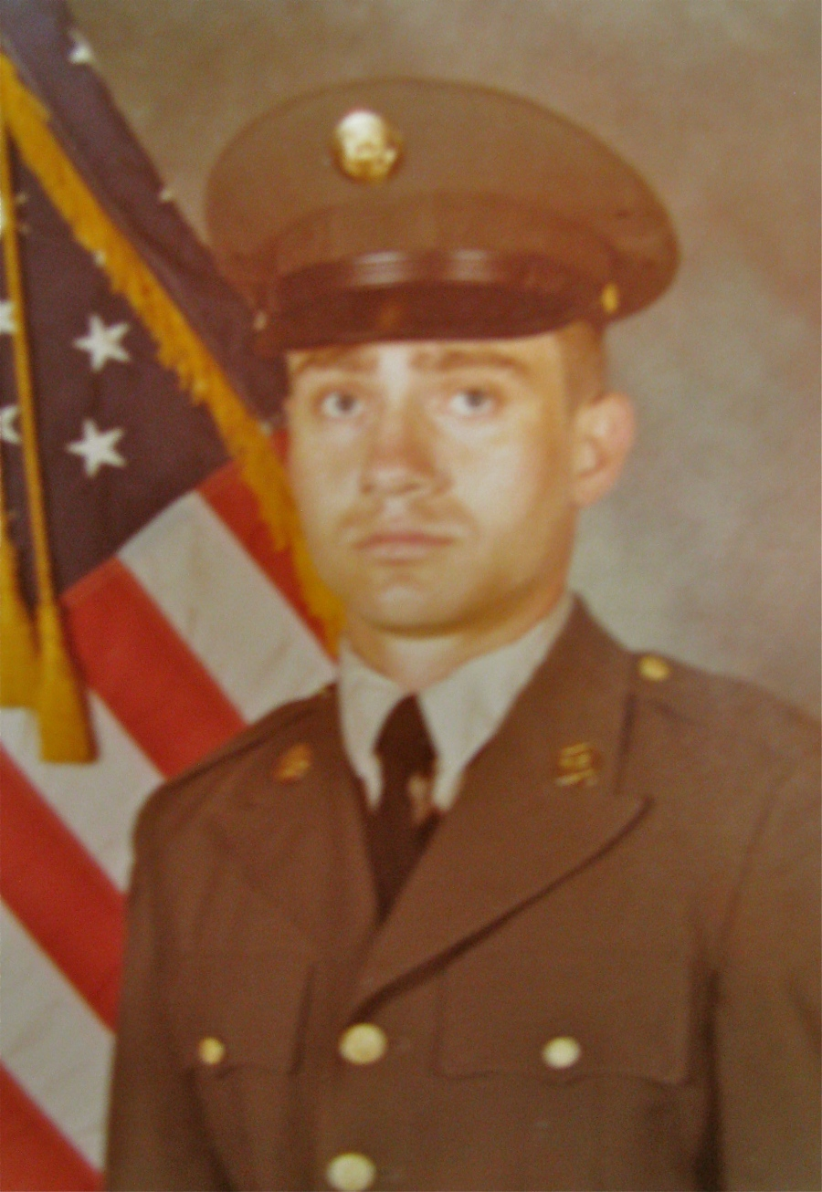 Pvt. Bill Gomes of Punta Gorda had just graduated from basic training at Fort Jackson, S.C. in 1973 when this picture was taken. Photo provided