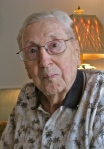 This is Carrico today at 96 at his home in Plantation, south of Venice. Sun photo by Don Moore