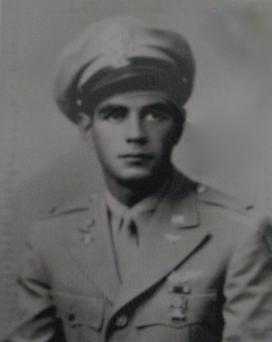 This was 2nd Lt. Leon Gumley when he graduated from glider flight training at Lubbock, Texas in 1943. Photo provided