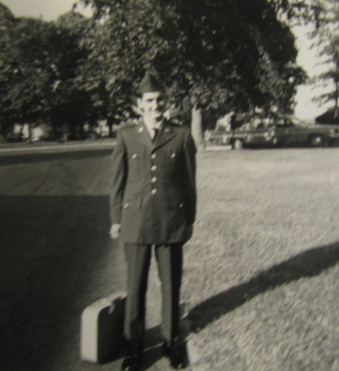 Pfc. Ron Heurlin is headed home from the the hospital after being wounded during the Battle of Suoi Bong Trang in Vietnam in 1966 serving with the 1st Infantry Division. Photo provided