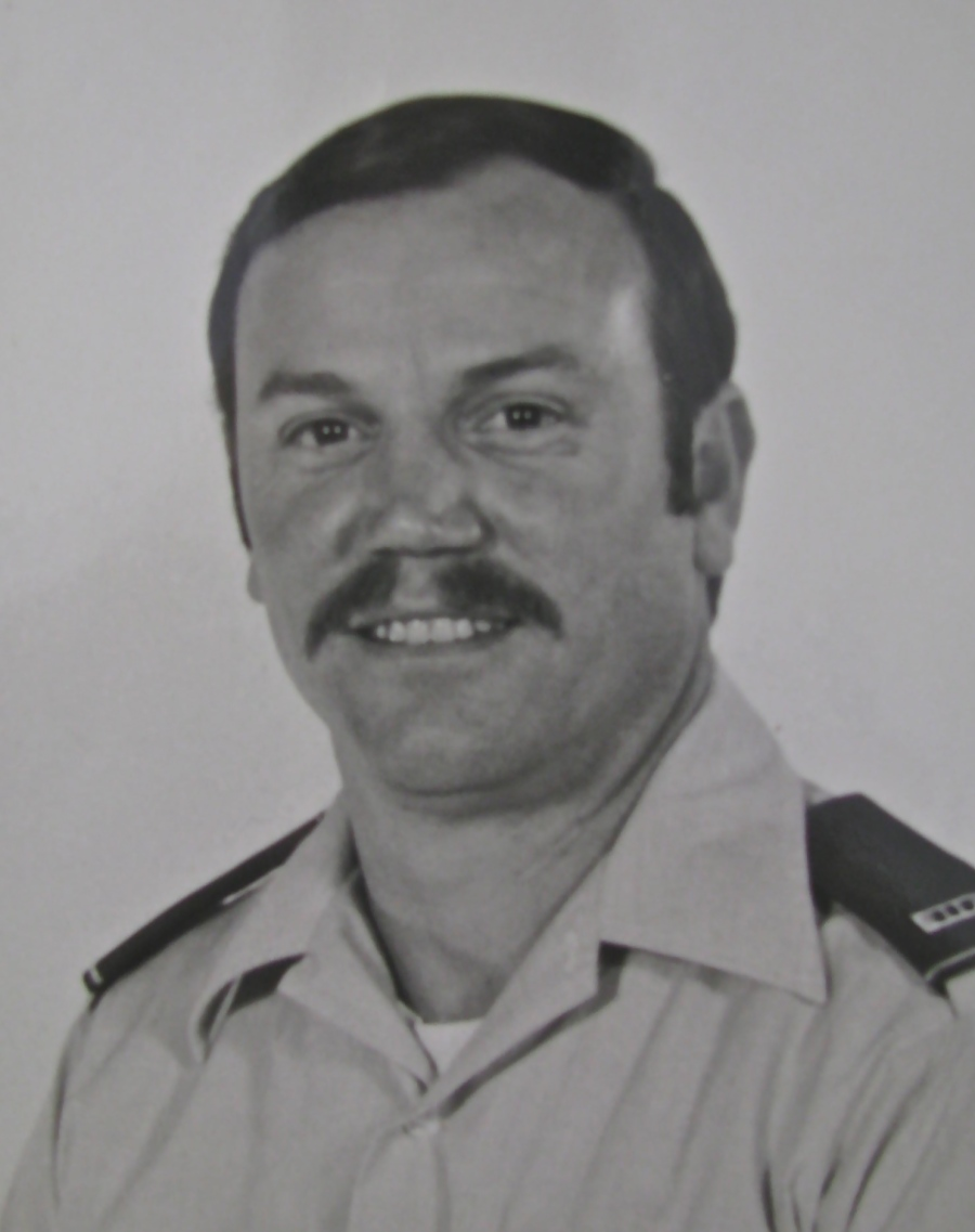 Jim Stivers was a Warrant Officer 3rd Class flying Army helicopters when this picture was taken in 1983. Photo provided