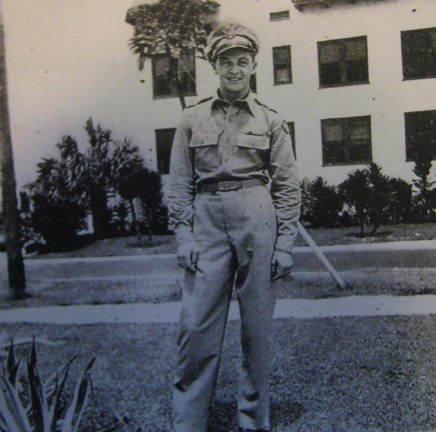 Al Simmons, Buster Yates' buddy in the Army Air Corps during World War II, helped him break up a Nazi spy ring in Guatemala. Photo provided by Buster Yates