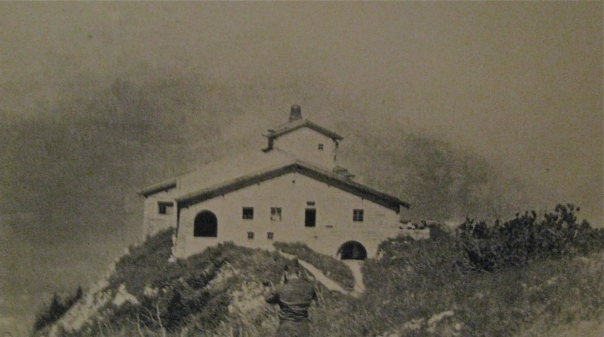 Youngs visited Hitler's Alps getaway in Austria shortly after it was captured by American soldiers during the closing days of World War II. Photo provided