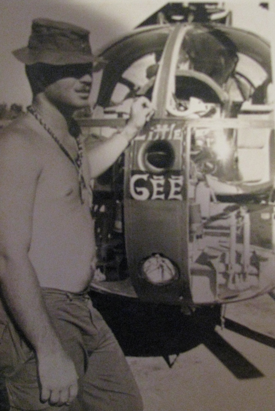 Berryman was a 20-year-old member of the Ames' crew when she sailed for Southeast Asia and the war in Vietnam. Photo providedxx