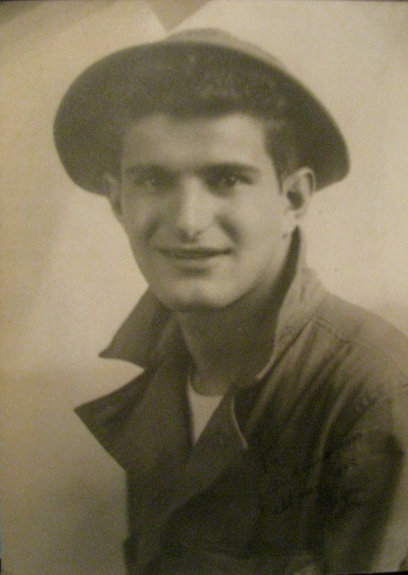 This was Pfc. Louis Basso shortly after graduating from Army boot camp in 1940. He was 19-years-old. Photo provided