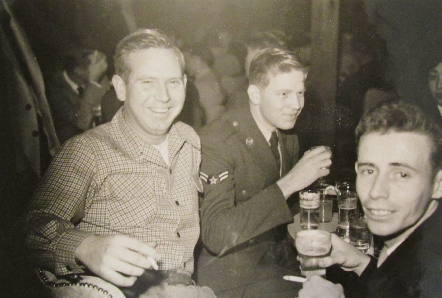 Perdue was taking some time off at the base bar at Johnson Air Force base outside Tokyo. He became a cryptographer decoding secret Morris Code messages from the North Korean Air Force during the Korean War.