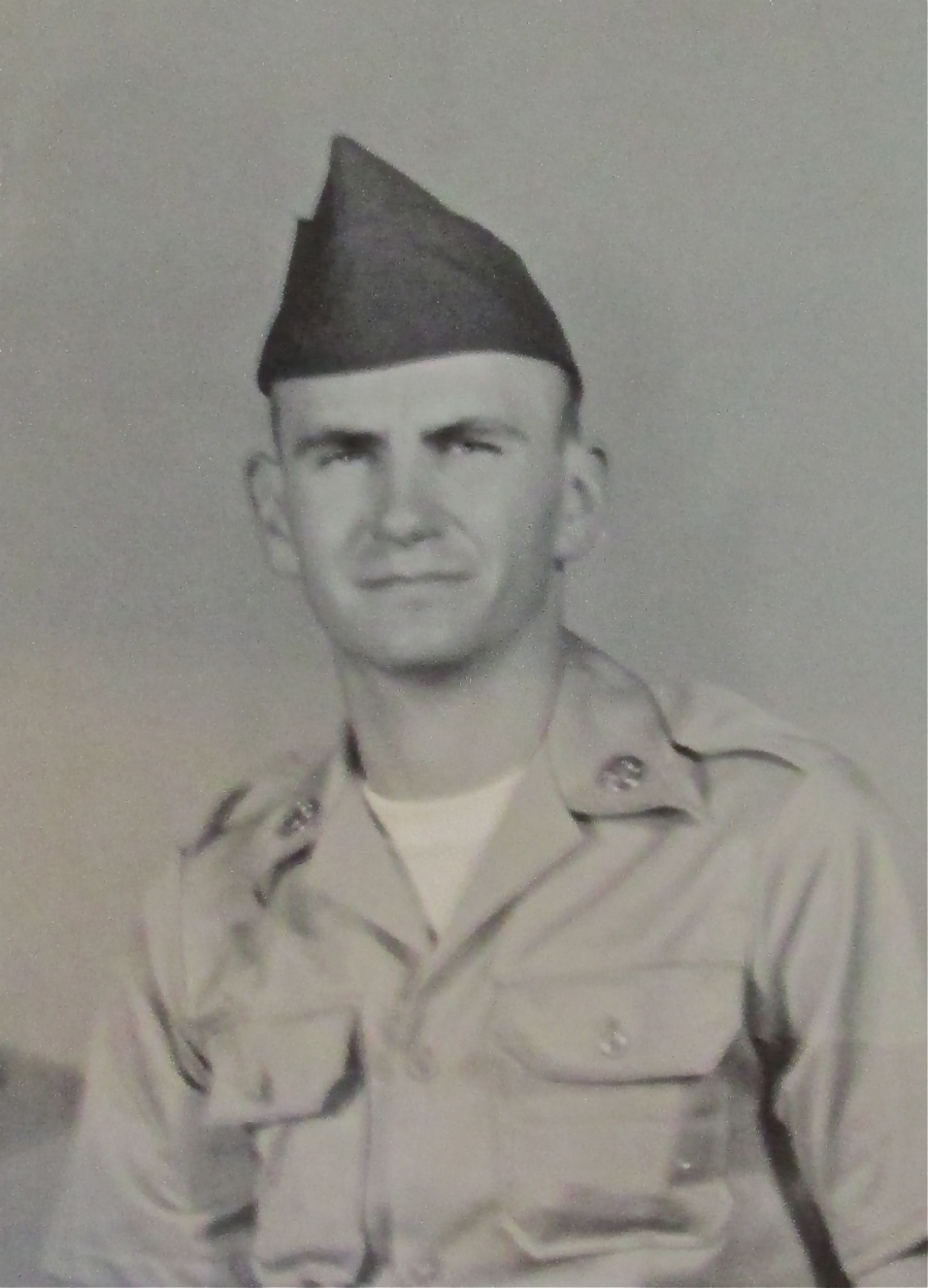 Pvt. Fred Stuenkel is pictured at 19 about the time he graduated from basic in 1969 at Fort Jackson, S.C. Photo provided