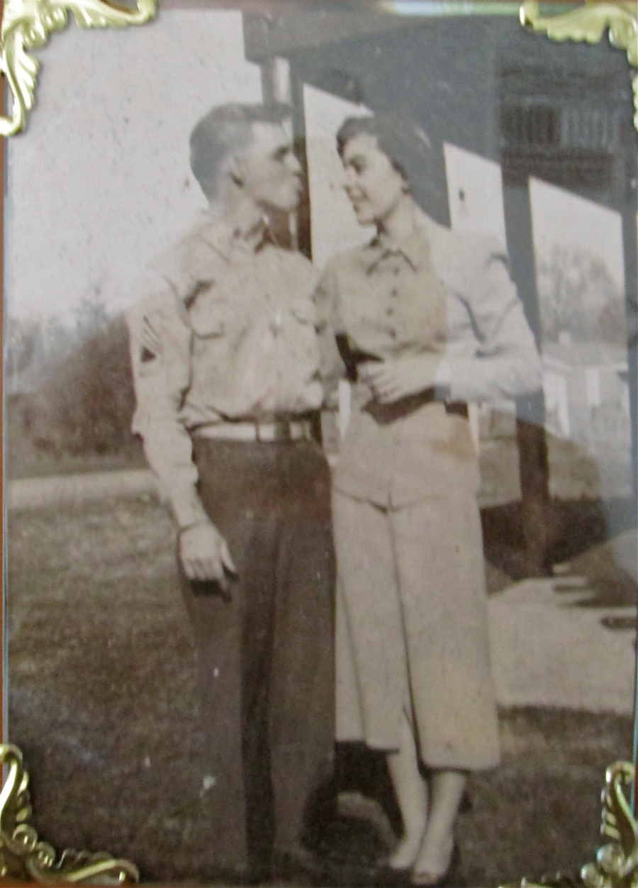 Goff and his wife, Rose, about the time they were married in 1952. Photo provided.