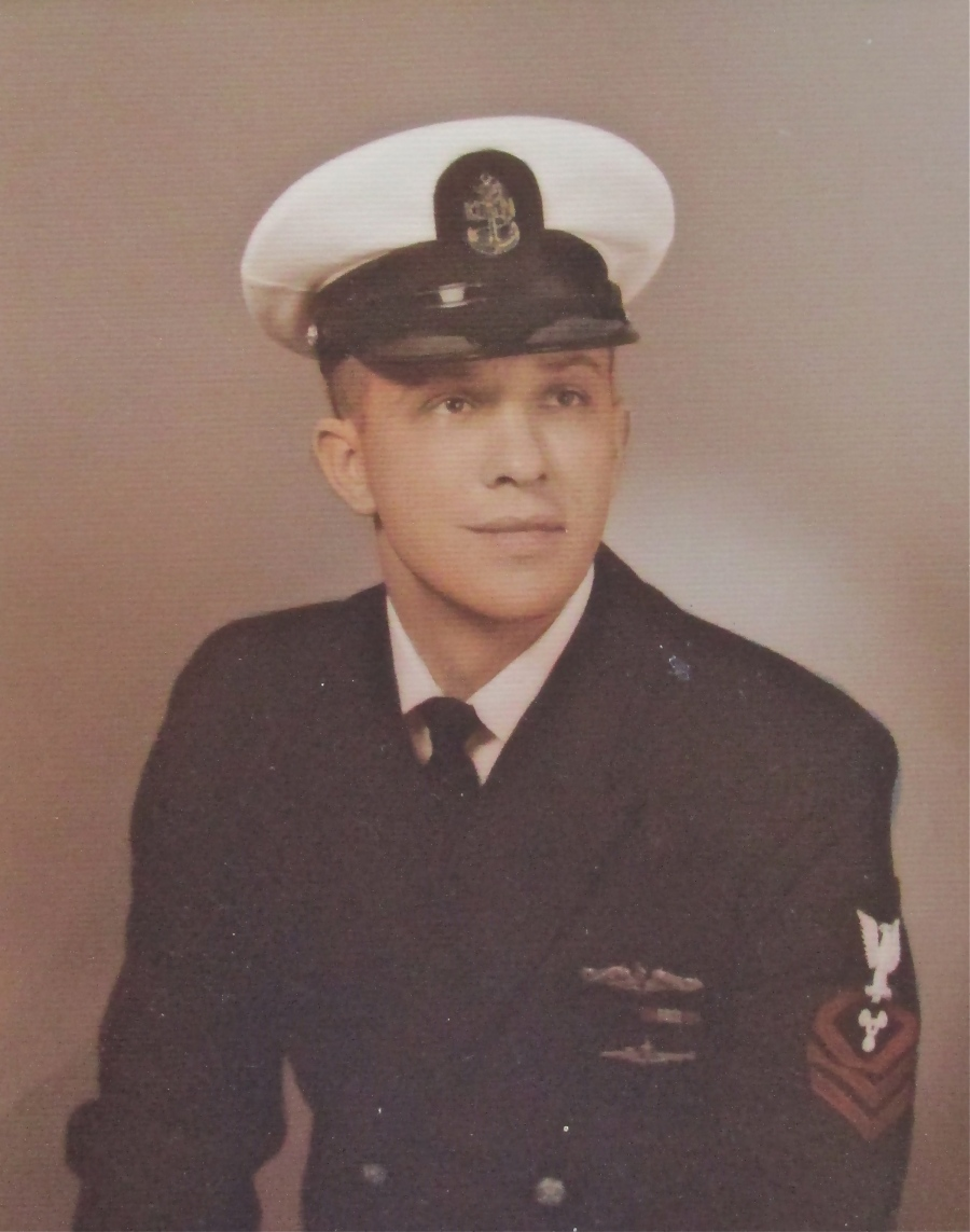 This picture was taken in 1970 when Manning made Chief Petty Officer when he joined the Naval Reserves after serving nine years in the regular navy. Photo provided