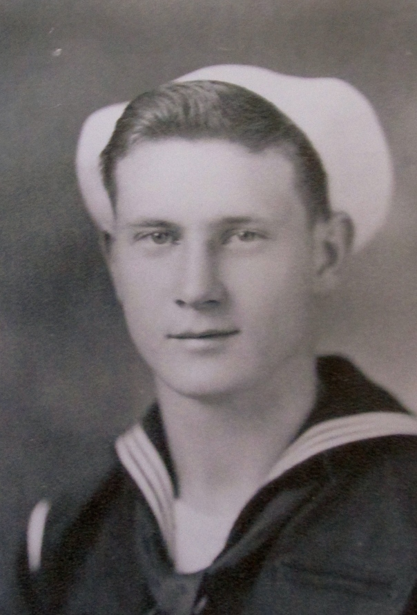 Earl Thompson is picture at 17 when he graduated from boot camp at Great Lakes Naval Processing Center outside Chicago in 1945. He wound up at Okinawa but missed he battle. Photo provided