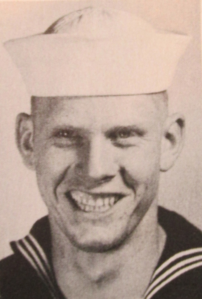 Mack when he was a new Navy recruit in 1954. He was 18 at the time and just getting out of boot camp at Bainbridge, Md. Photo provided