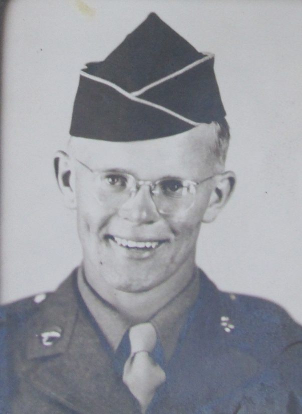 Dick Samuelson is an 18-year-old Army Air Corps recruit fresh out of boot camp in 1944 headed for the war in Europe. Photo provided