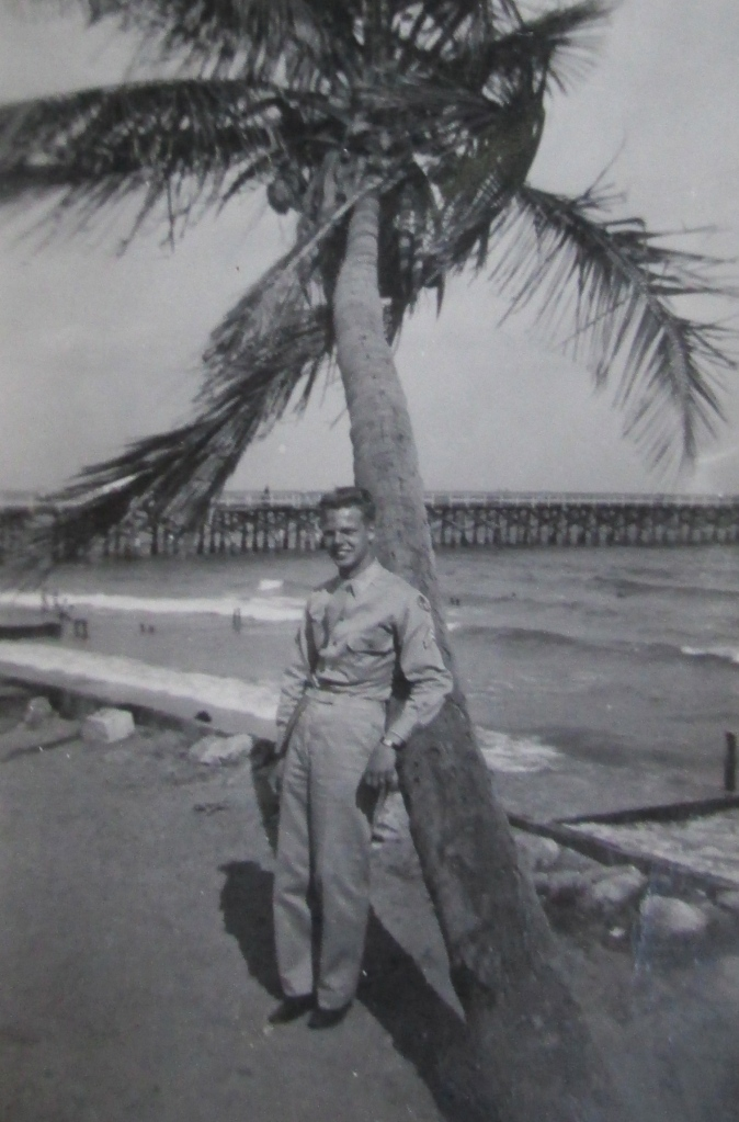 After serving with the 15th Air Force in Italy during the Second World War, Sgt. Samuelson returned to Boca Raton and sunny Florida for the final months of his time in the service. Photo provided