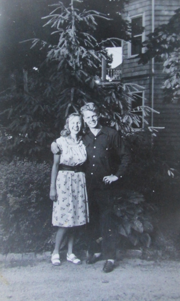 Pollyann and Dick, high school sweethearts, got married right after the war. They had six children of their own and adopted two more during their decades-long marriage. Photo provided