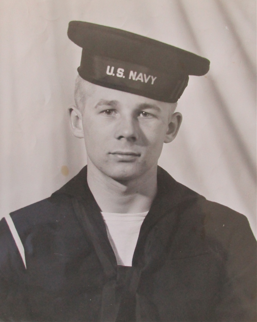 New 17-year-old recruit Clarence Moore of Tangerine Woods in Englewood is pictured in 1943 when he graduated from Great Lakes Naval Processing Center near Chicago. Photo provided