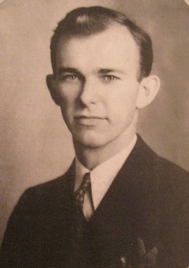 This was Hettema at 31 when he signed up for the Seabees early in 1942. Photo provided