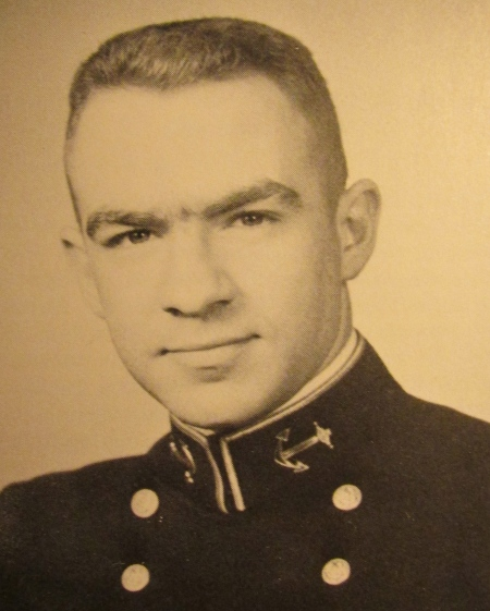 Art Rimback as he looked when he graduated from the U.S. Naval Academy at Annapolis, Md. in 1961. Photo provided