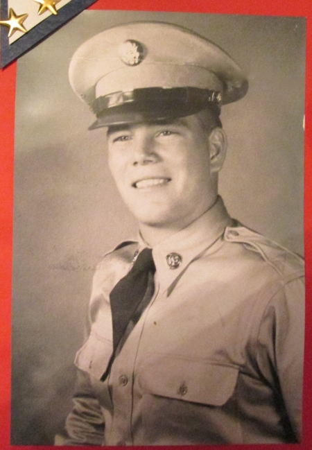 Steve Logsdon of Rotonda had just graduated from boot camp at Fort Knox, Ky. in 1950. He was 17. Photo provided