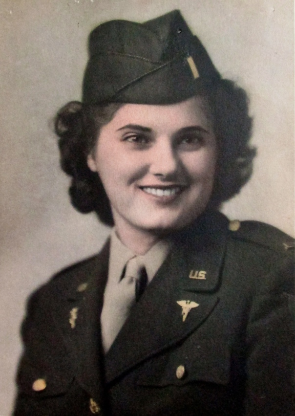 This was 2nd Lt. Marie Sgriccia at 20 when she graduated from nursing school at Indiana Hospital in Indiana, Pa. in 1943. She became an Army Air Corps nurse. Photo provided