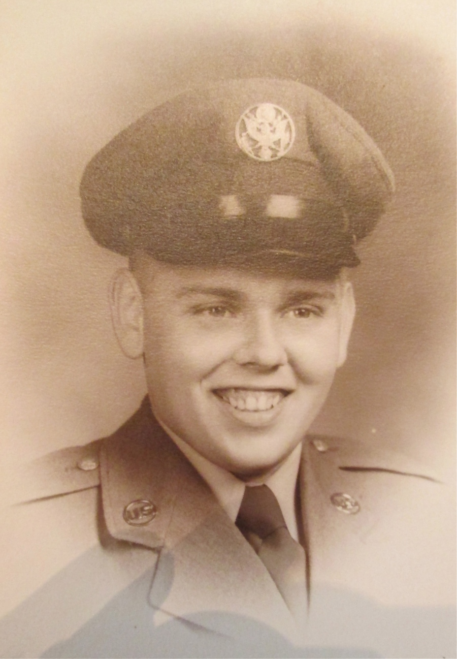 This was Airman Tommy Hammond when he graduated from boot camp at Samson Air Force Base in New York State in 1950. He was 17. Photo provided