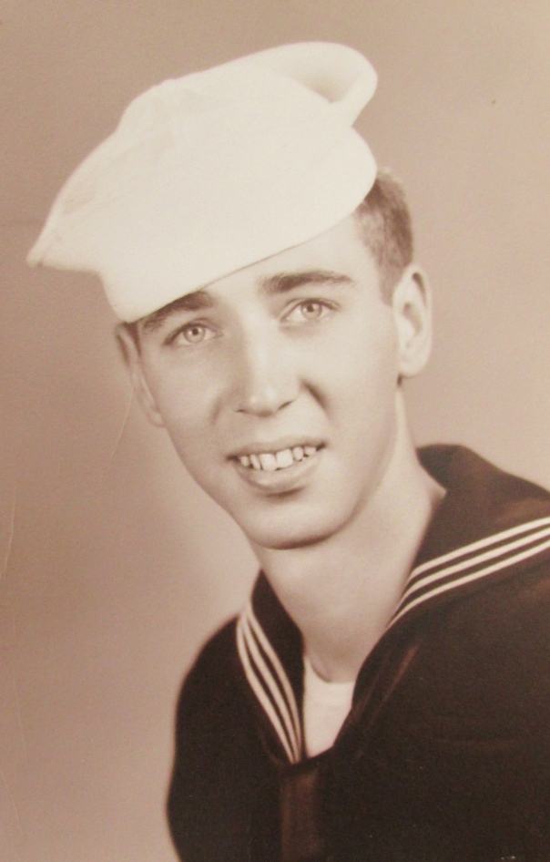 This formal picture of Bill Wyld of Port Charlotte was taken in 1951, three years into his 41 year Naval Reserve Career that began in 1948 and ran until he retired in 1989. Photo provided