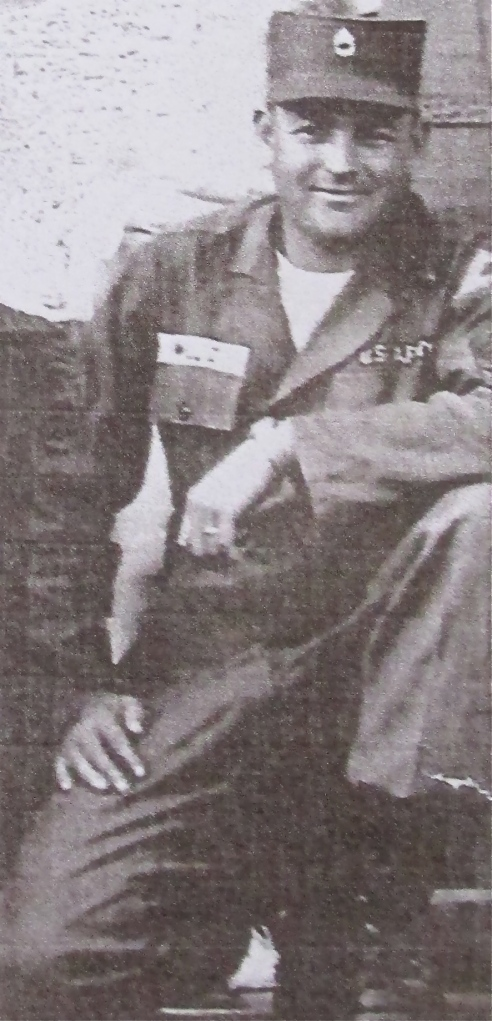 Sgt. Billy Willis in his fatigues at Nuremberg, Germany while serving with the 1st Infantry Division in 1959. Photo provided