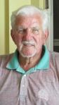 Roaf at 89 at his Punta Gorda Isles home. Sun photo by Don Moore
