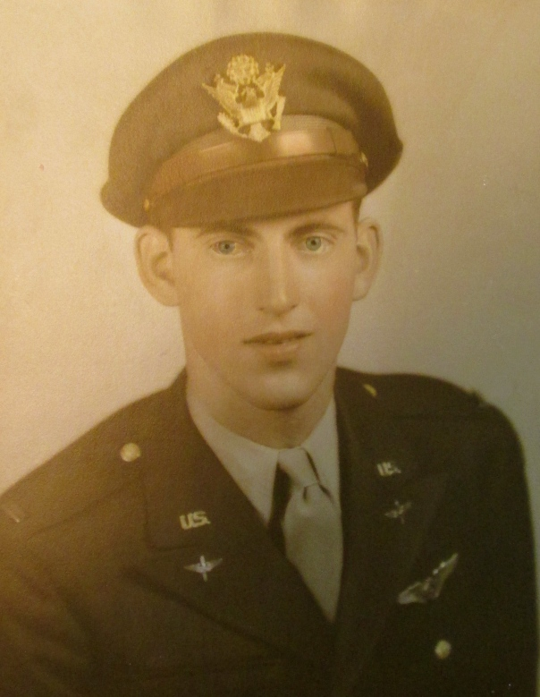 This was Lt. Wallace Spencer of Tangerine Woods subdivision in Englewood in his 20s shortly after graduating for Air Force boot camp during World War II. Photo provided