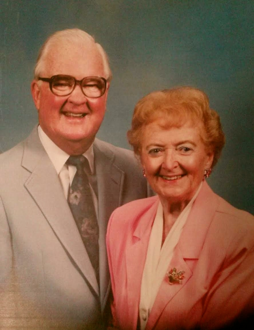 Jim and Betty McGrath are shown here in a formal picture taken in 1998. Photo provided