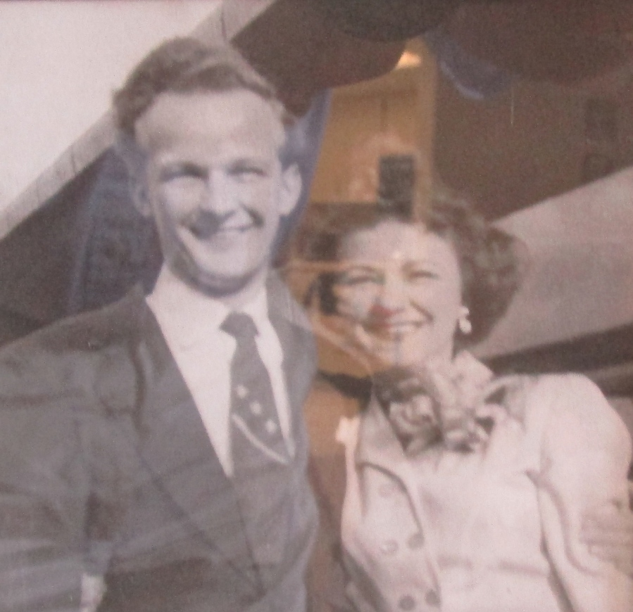 "Walter and his wife ""Curly."" Photo provided"