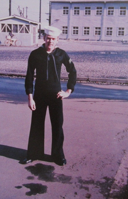 This is Plane Captain Jim Williams when he was serving in Japan in the '60s. He was 20 years old. Photo provided
