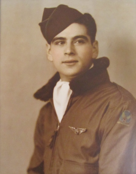 Michael Tristano of Heron Creek subdivision in North Port had just graduated from gunnery school in 1944 when this       picture was taken. He was 19 at the time. Photo provided