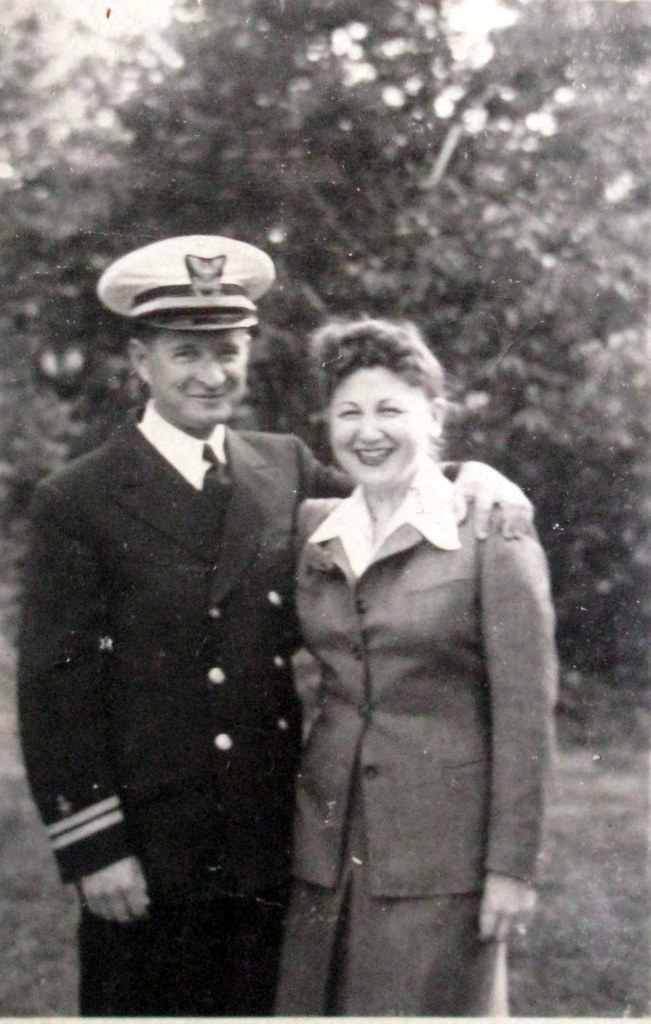Ed and his wife, Evelyn, during World War II. Photo provided