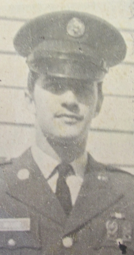 This old newspaper picture of Spc.-4 Don Miller of North Port when he graduated for boot camp at Fort Jackson, S.C. in   1967. Photo provided