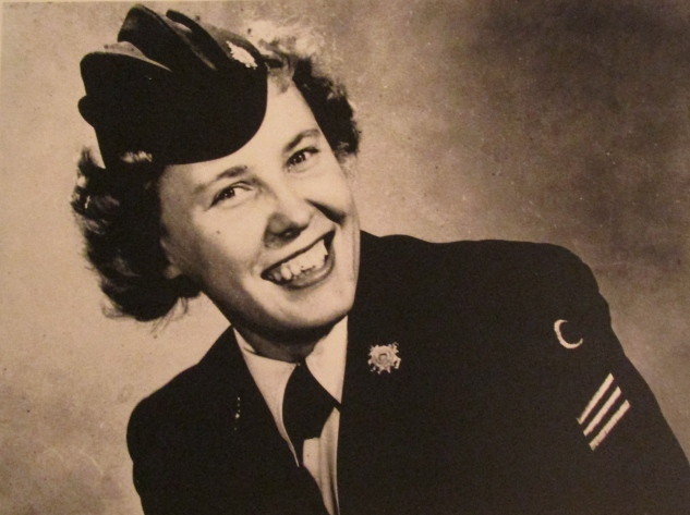 Catherine, Murphy's first wife, served in the Coast Guard during World War II. Photo provided