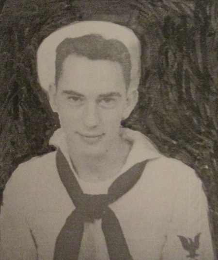 This is a shot of Paulsen when he was a machinist mate 1st class serving aboard the USS Saratoga in World War II. Photo provided
