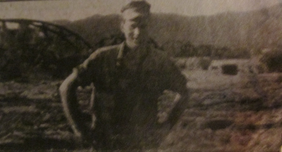 Vic Ciullo is pictured near the Namo Bridge in I Corps in the middle of Vietnam in 1966-67, when he served with the 3rd Amphibious Tractor Battalion. Photo provided