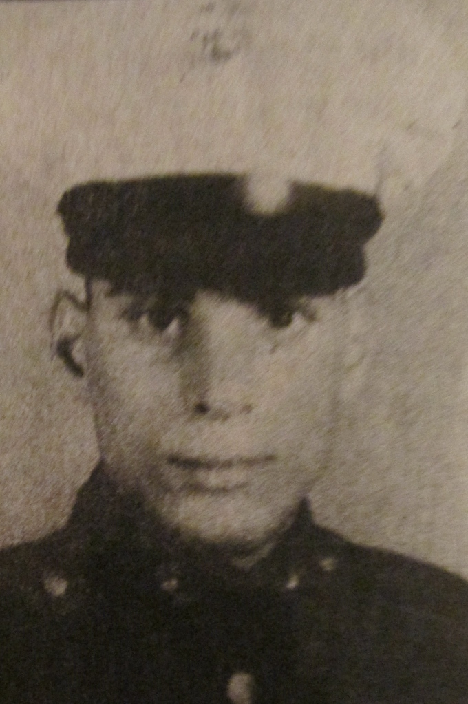 This was Private Vic Ciullo at 18 when he joined the Marines at Parris Island, S.C. for boot camp. Photo provided
