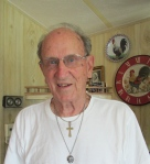 Roth today at 88 in his Englewood home. Sun photo by Don Moore