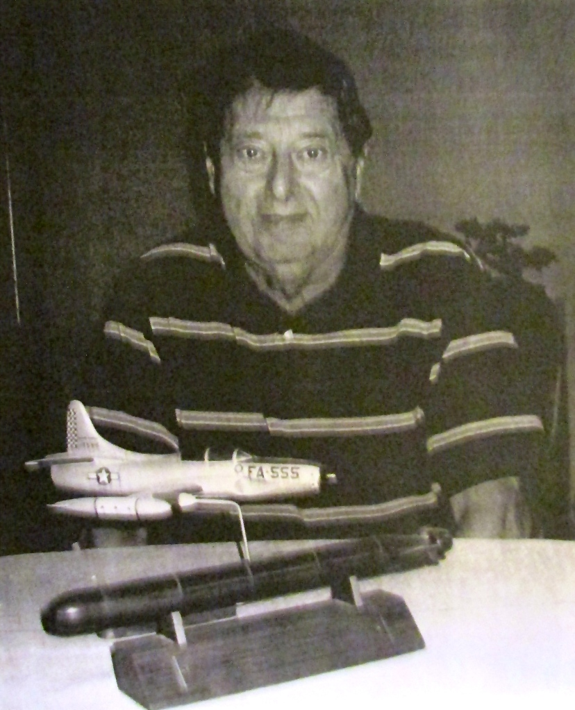 George Kalaf of Port Charlotte, Fla. began his career by flying an F-94C
