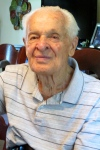 Bizeur today at 90 at his home in North Port. Sun photo by Don Moore