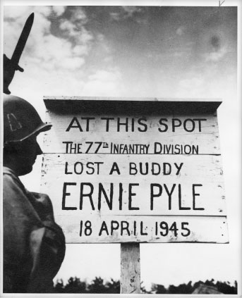 Ernie Pyle marker