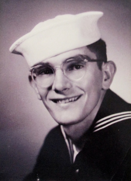 Bob Adams of Brook to Bay mobile home park near Englewood had just graduated from bootcamp at Great Lakes Naval Receiving Station when this picture was taken in 1952. He was 19 at the time. Photo provided