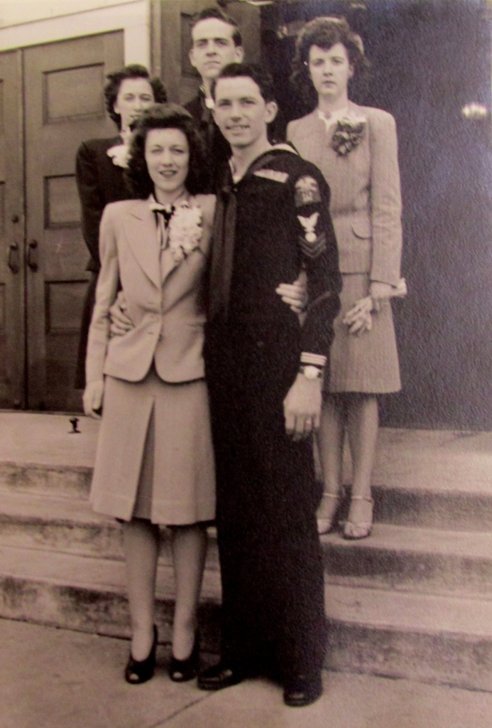 John Barrow and his wife, Bonnie, were married in Washington, D.C. in 1946 shortly after the end of the Second World War. Photo provided